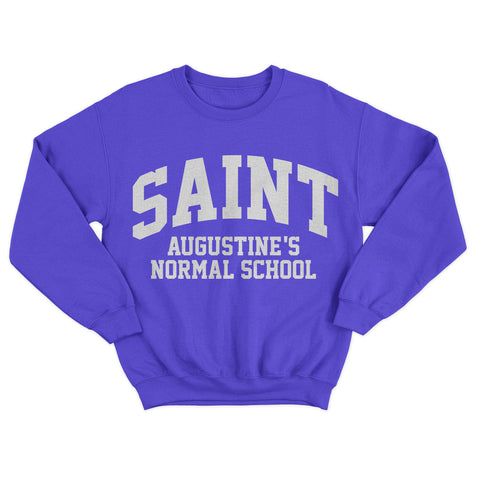 Historically Black | St Augustine Normal | Sweatshirt - Blue