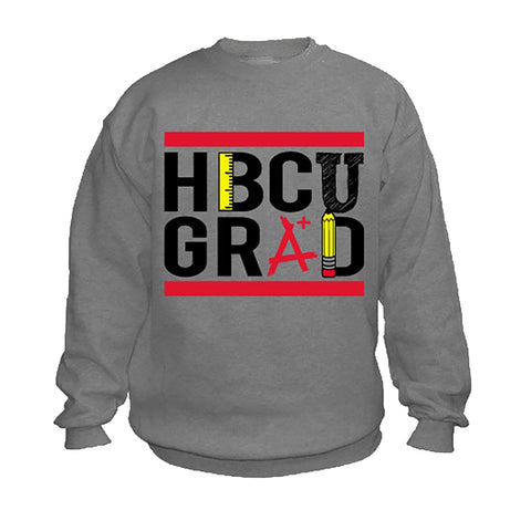 HBCU Grad | Teacher Edition | Sweatshirt - Charcoal