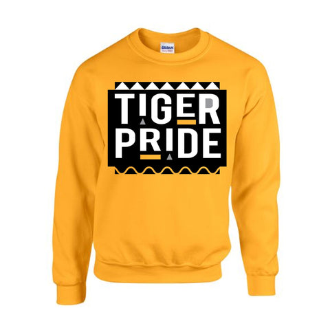 HBCU | Tiger Pride | Sweatshirt - Gold