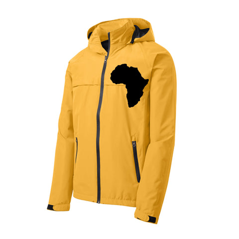 Legalize Melanin Gold Windbreaker
