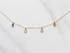 Dainty Birthstone Necklace | Build Your Own