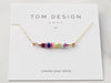 Gemstone Birthstone Bar - Build Your Own
