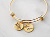 Handwriting Expandable Bangle