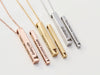 Medical ID Necklace | 4 Sided Bar