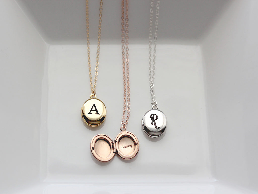 lscc jewellery silver italic charmed engraved locket lockets lily necklace circle round by font