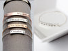 Engraved Bar Bracelet: Thick Bar