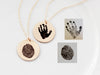 Actual Fingerprint Necklace