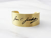 Thick Handwriting Bracelet | 1 1/8