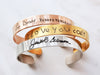 Medium Handwriting Bracelet | 3/8