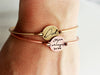 Handwriting Bracelet | Disc Bangle