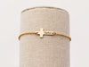Children's Engraved Cross Bracelet