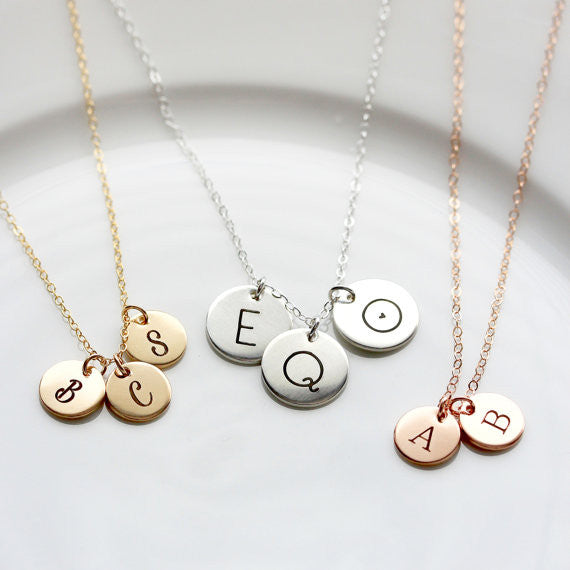 "1/2"" Build Your Own Disc Necklace"