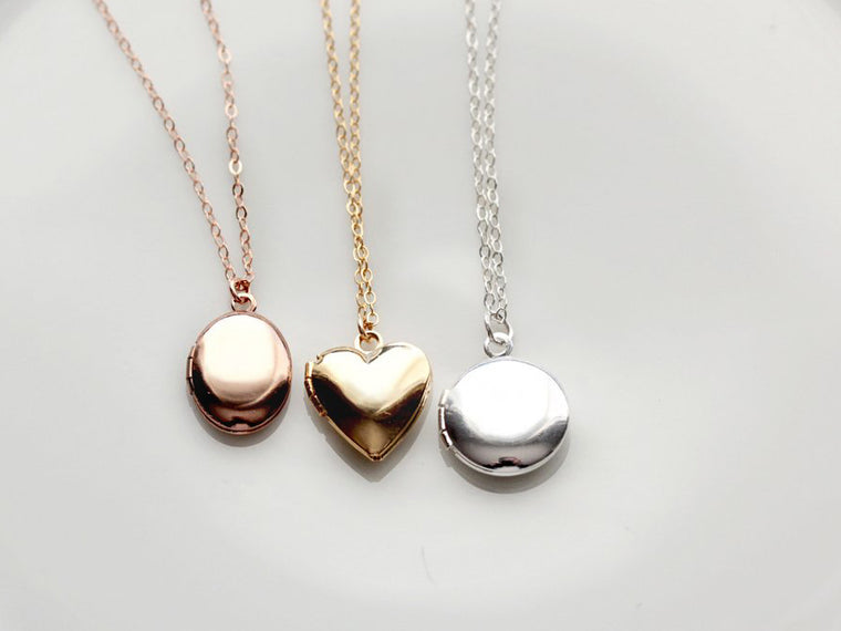 Solid Mini Lockets
