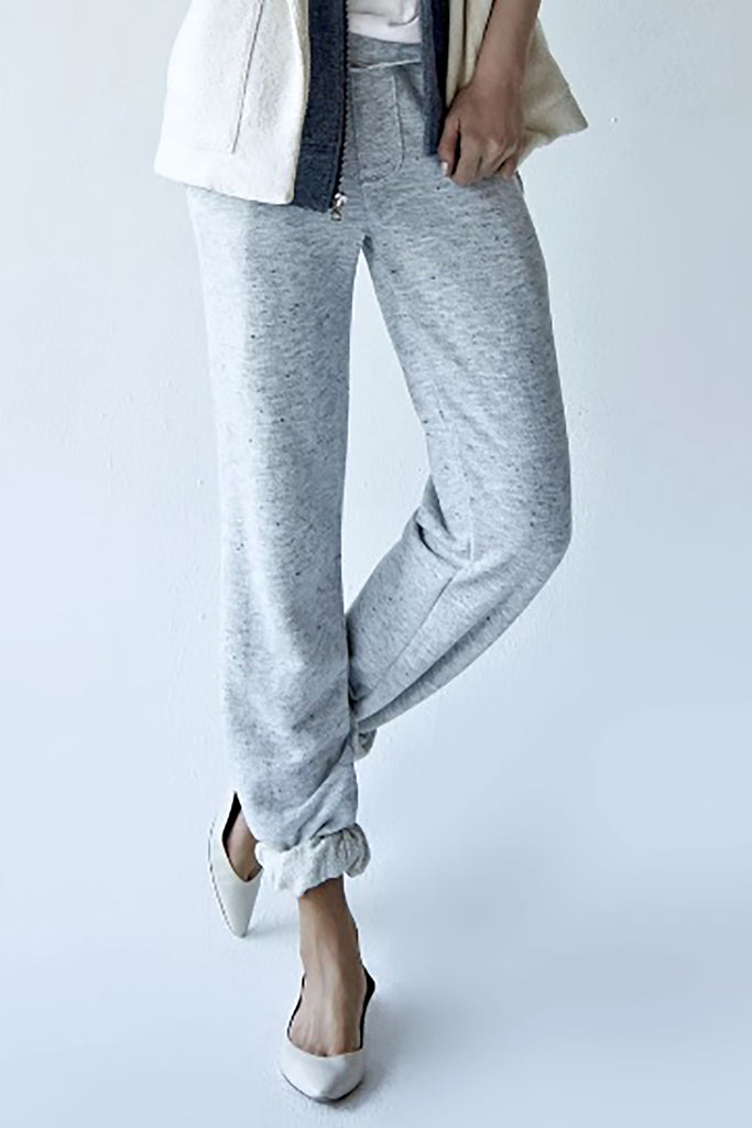 Ladies Sweatpants With Raw Edge Details | Fall 2019