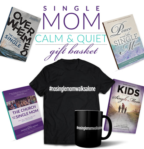 Single Mom Calm & Quiet Gift Set