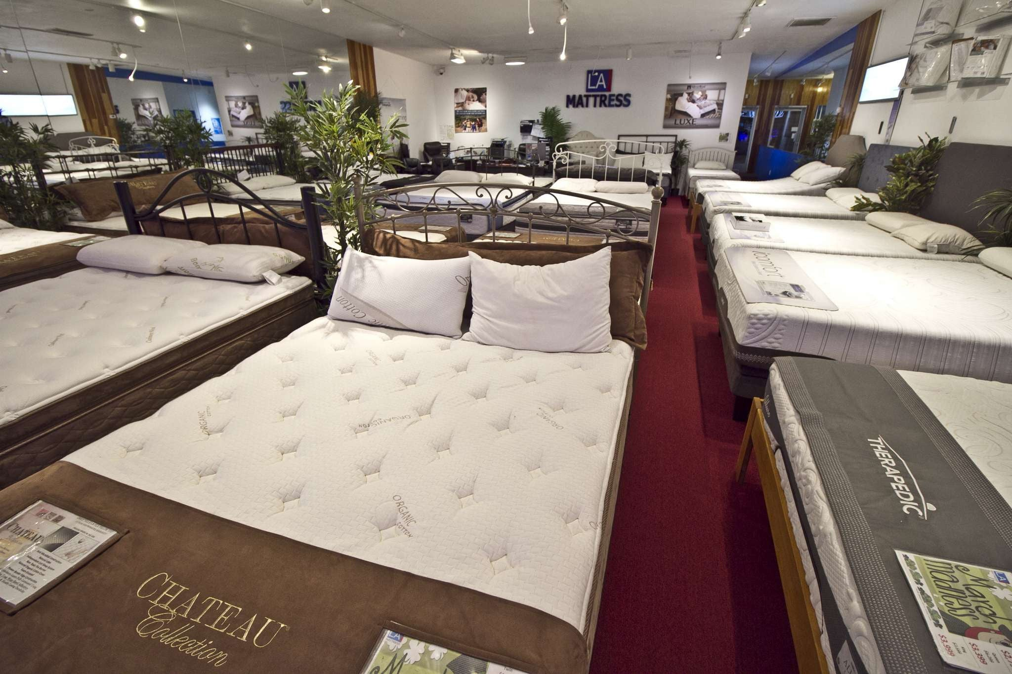 King Size Latex Mattress Studio City Mattress Stores CA