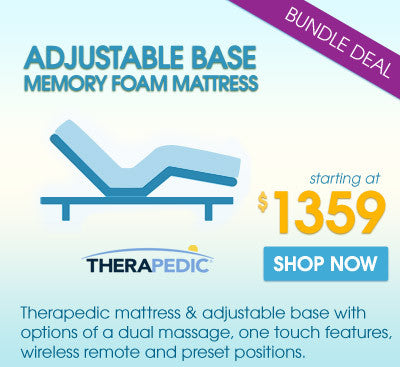 Best Deal. Memory Foam Mattress & Adjustable Base with Wireless Remote & Dual Massage Bundle Guaranteed Lowest Price