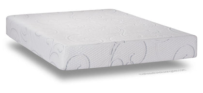 "Restonic 300 Series 10"" Gel Memory Foam Medium Plush Mattress"