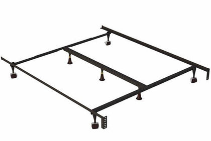 Holly-Lock Keyhole Regular Metal Bed Frame