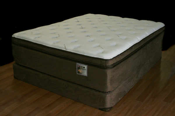 Cashmere Natural Latex Firm Box Top Mattress Los Angeles