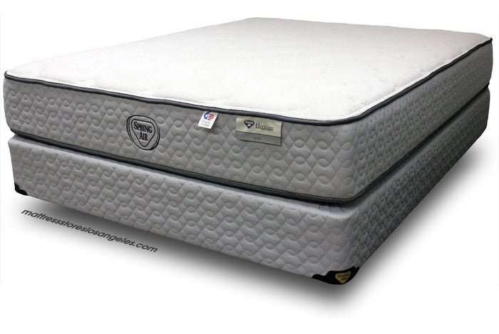 Spring Air Mattress With BoxSpring Plush Mattress Super Double Dip Sale