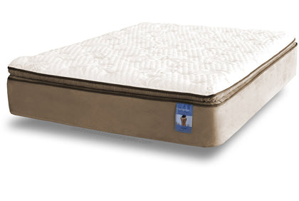 Back Sense Rhapsody Gel Memory Foam Plush Pillow Top Mattress