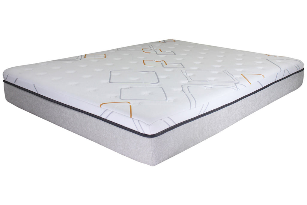 14 Iretreat Hybrid Gel Memory Foam Mattress By Bed Tech Los Angeles Mattress Stores