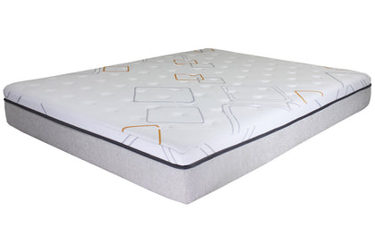 "14"" iRetreat Hybrid Gel Memory Foam Mattress by Bed Tech"