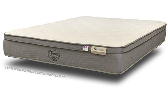 Spring Air Mattress Ocean Firm Euro Top Mattress
