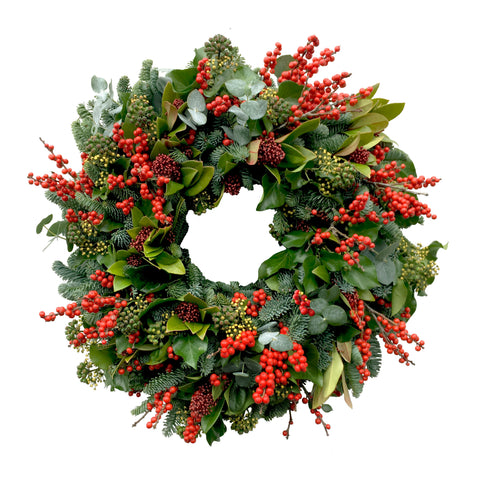 Red Ilex Wreath