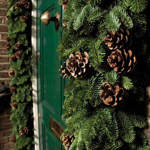 Blue Pine Garland per foot