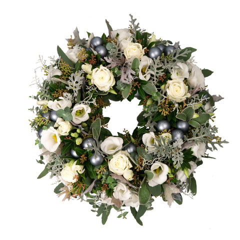 Fresh White flower wreath