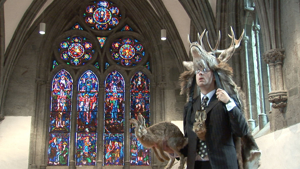 Marcus Coates | Radio Shaman, Stavanger Cathedral, Norway (2006)