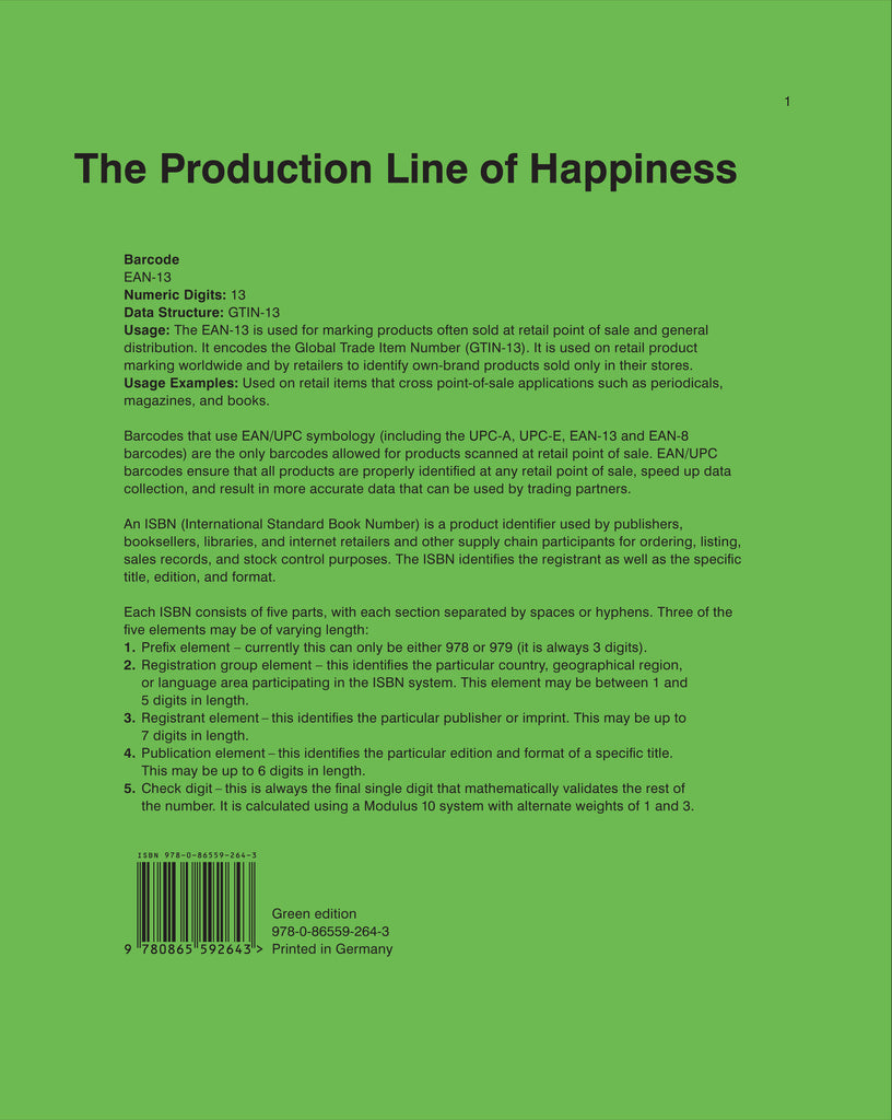 Christopher Williams: The Production Line of Happiness
