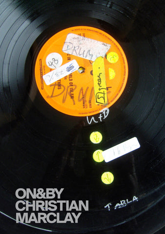 ON&BY Christian Marclay **SIGNED BY THE ARTIST**