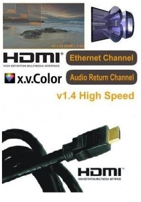 HDMI HIGH SPEED HDR V2.0a CABLE WITH Ultra HD and Sky Q Support
