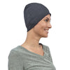 Cate and Levi Comfort and Courage Premium Grey Headwear | Chemo Caps | Hats for Cancer Patients - Cate and Levi
