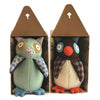 Hoo's The Maker Owl Stuffed Animal Kit - Cate and Levi