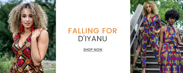 D'IYANU African Print Fall 2018 Collection