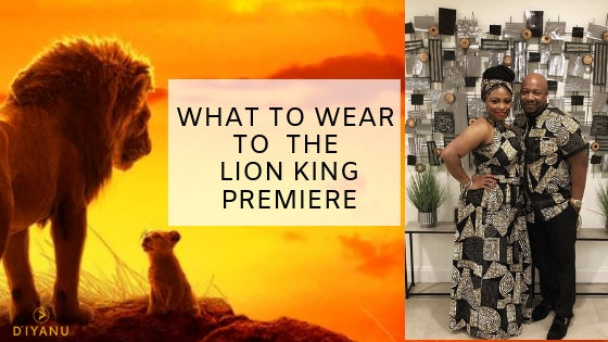 What to Wear to the Lion King Premiere
