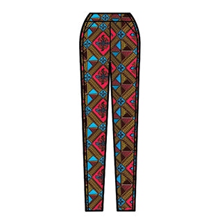 D'IYANU African Print Safina Pants Fall Collection Preview
