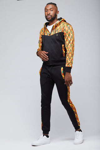 Chedike African Print Joggers