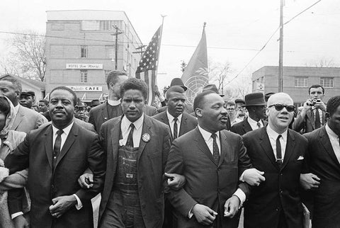 Marching On Selma