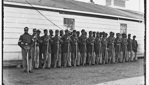 first black company fighting in the American Civil War