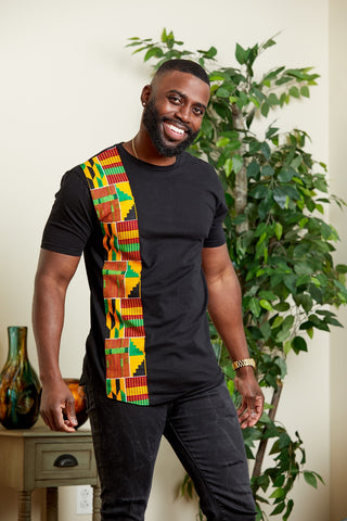 Sadik African Inspired Fashion T-Shirt for Men