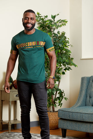 Jaheem African Inspired Fashion T-Shirt for Men