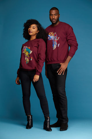 African Print Athleisure Collection Africa Sweatshirts