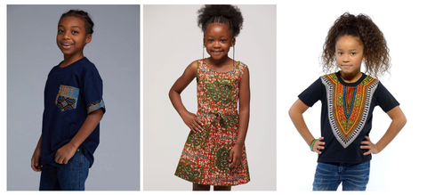 African Print Gifts for Kids