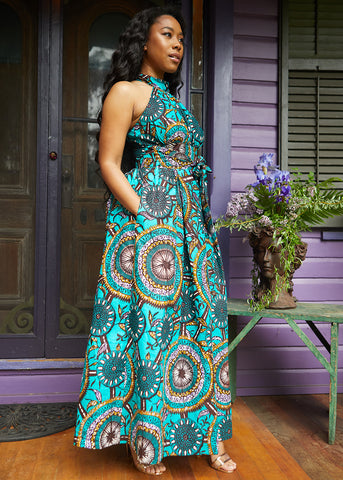 D'IYANU African Print Summer Women's Collection