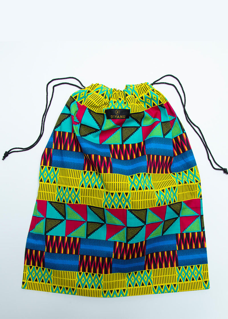 Ebuni African Print Dust Bag- Gift with Purchase